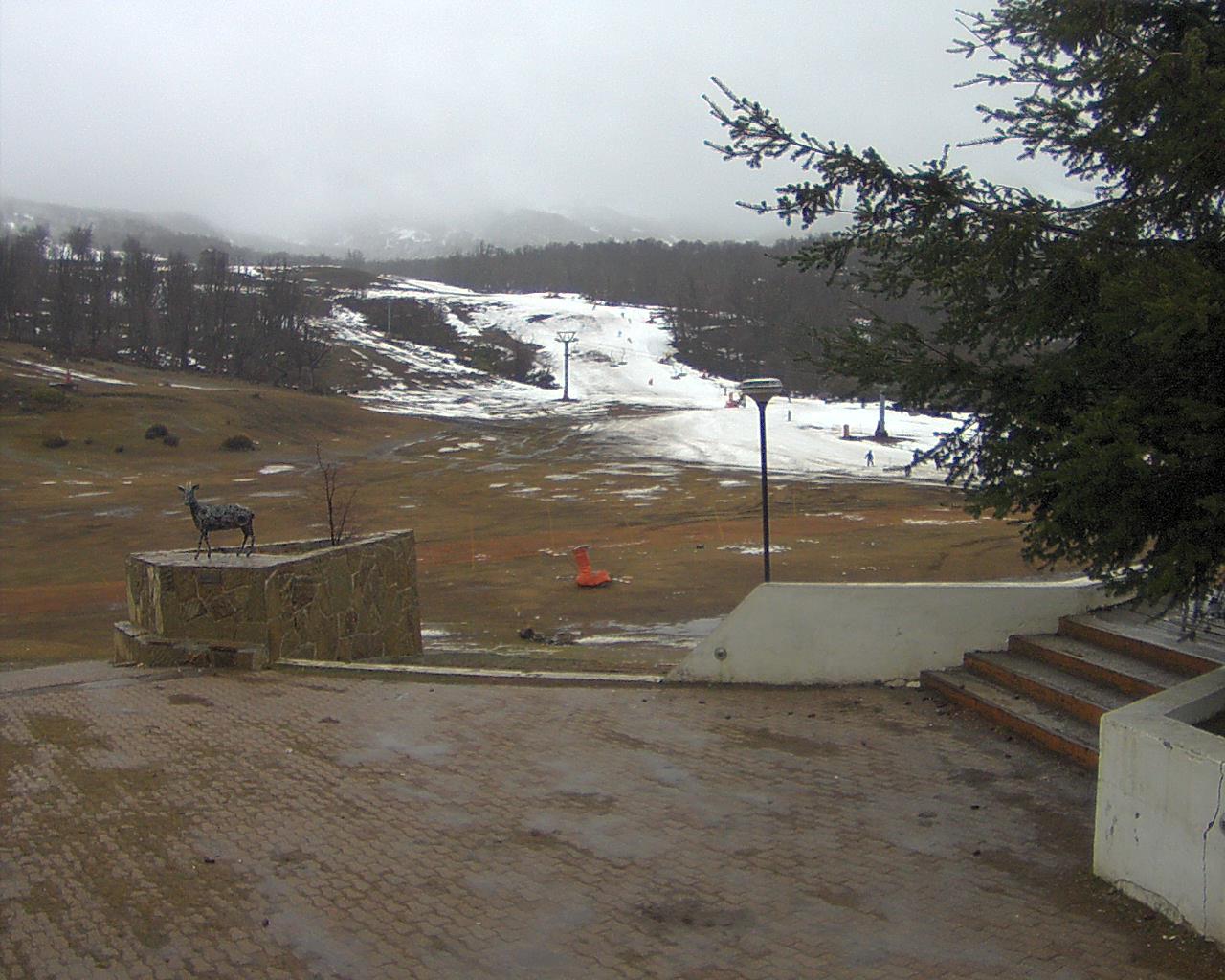 Webcam en Base - Pistas, Chapelco (Argentina)